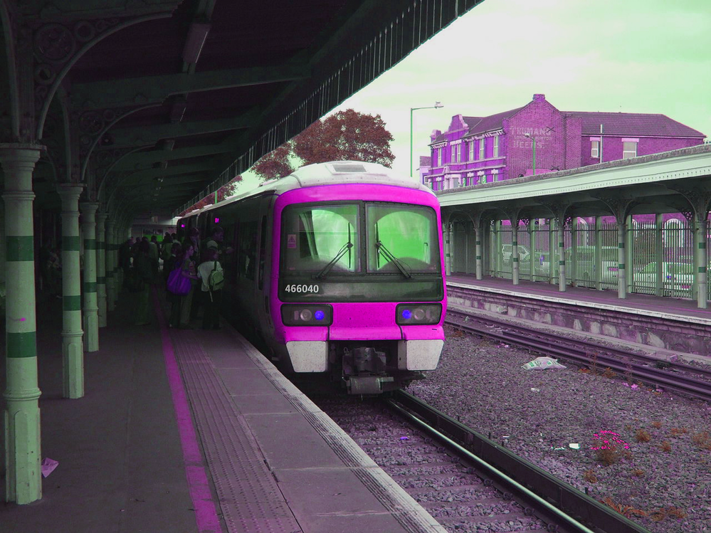 Sheerness Station Pop Art