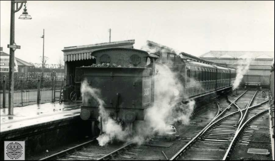 Sheerness Railway Station Old Photo