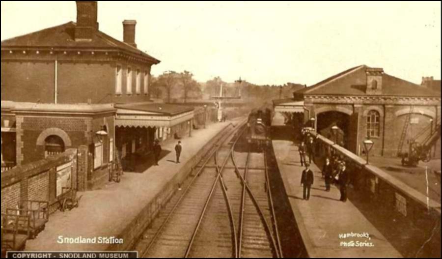 Snodland Station Old Photo