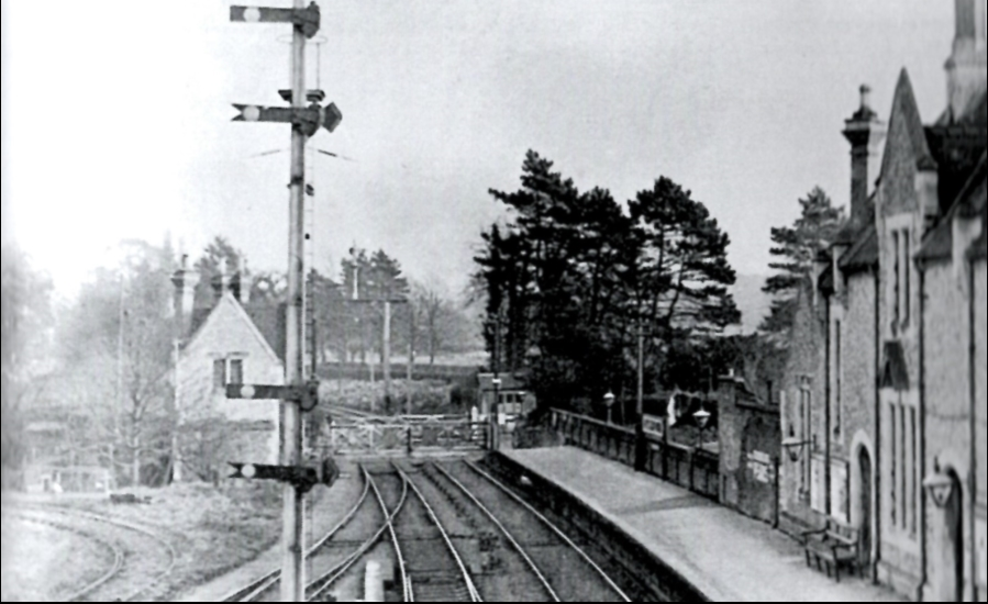 Aylesford Station Old Photo