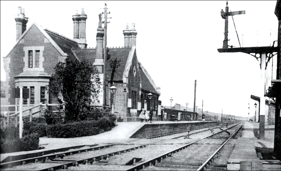 Cuxton Station Old Photo