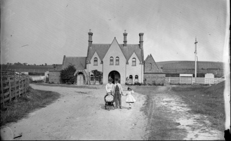 Queenborough Station 1880