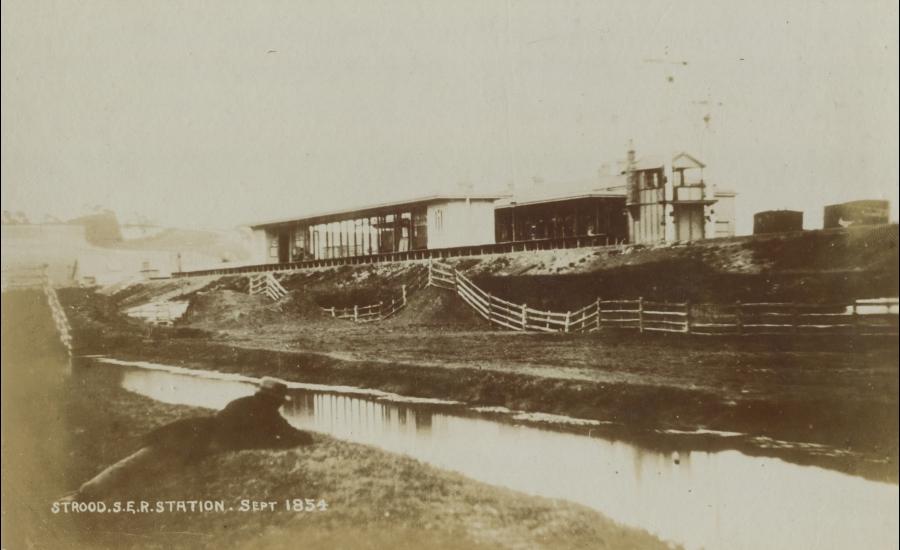Strood Station 1854