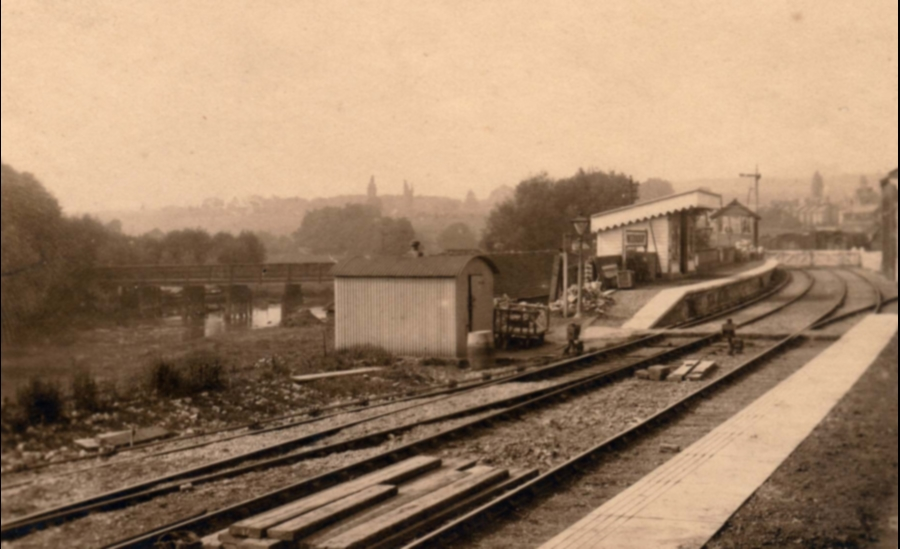 Wateringbury Station 1912