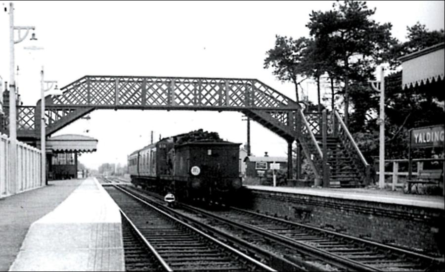 Yalding Station Old Photo