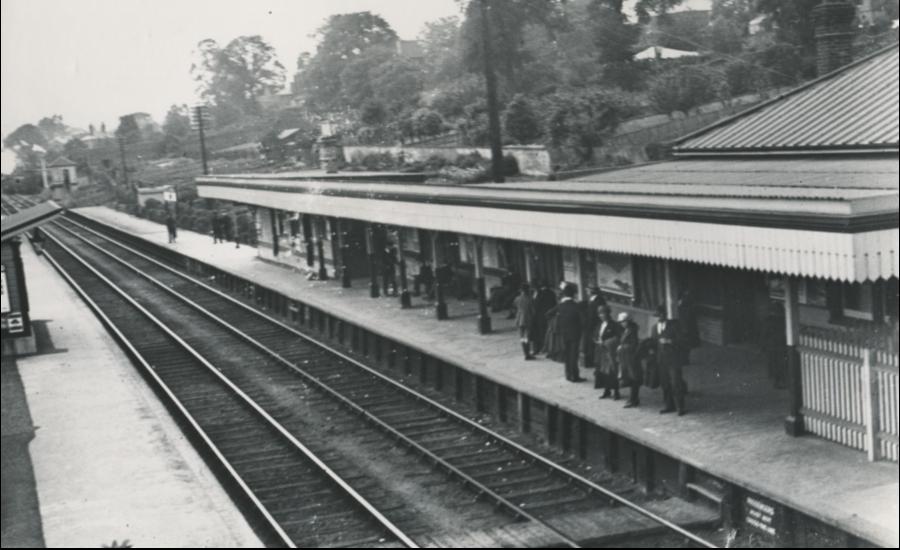 Maidstone Barracks Station