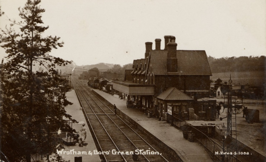 Wrotham and Borough Green Courtesy of Snodland Museum Andrew Ashbee