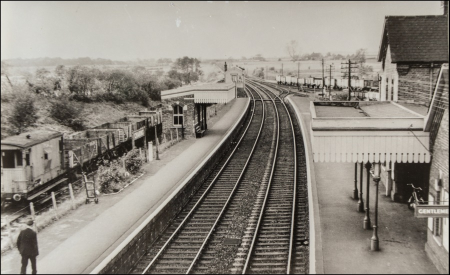 Charing station shortly before electrification about 1960