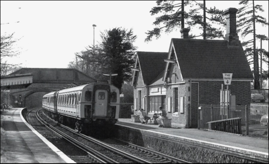 Barming Station 1990