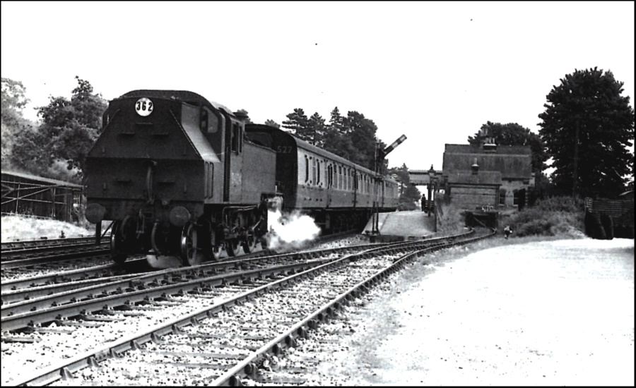 Bearsted Station 1958