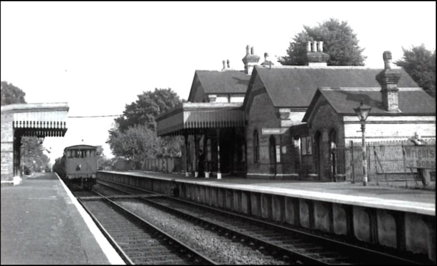 Bearsted Station circa 1950