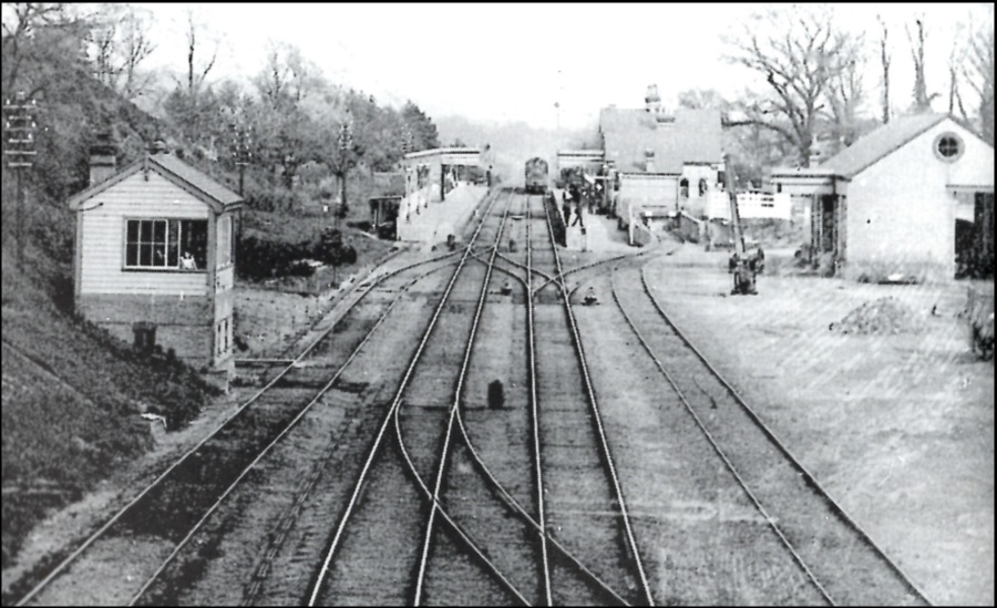 Bearsted Station date unknown