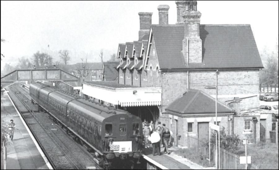 Borough Green and Wrotham Station 1991