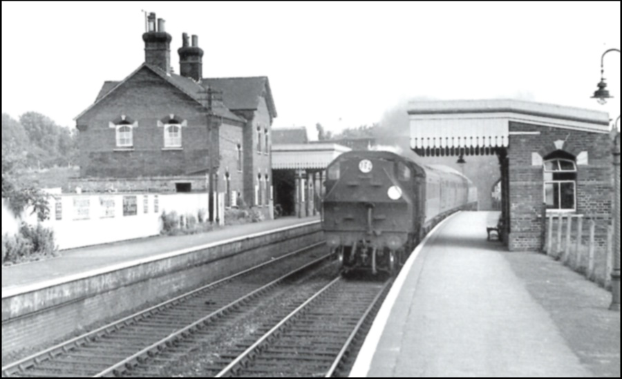 Charing Station 1958