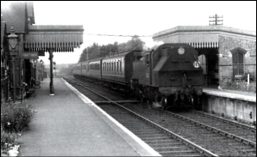 Harrietsham Station 1958