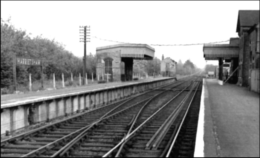 Harrietsham Station 1960