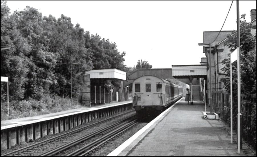 Harrietsham Station 1989