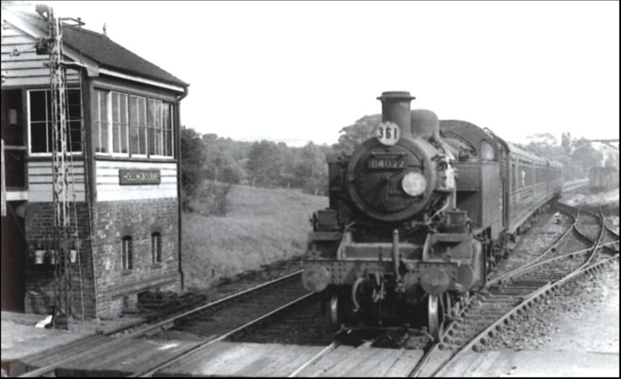 Hollingbourne Station 1958