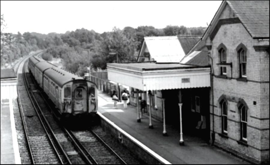 Hollingbourne Station 1989