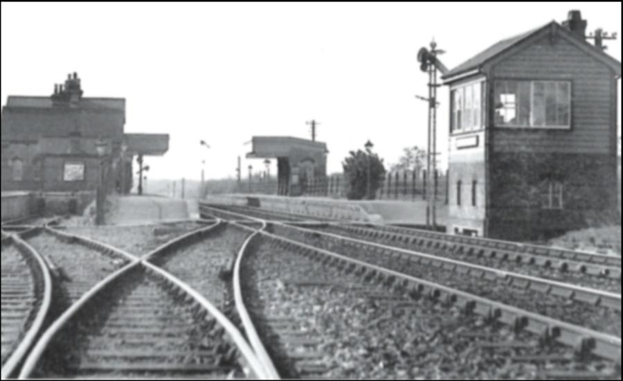 Hollingbourne Station circa 1958