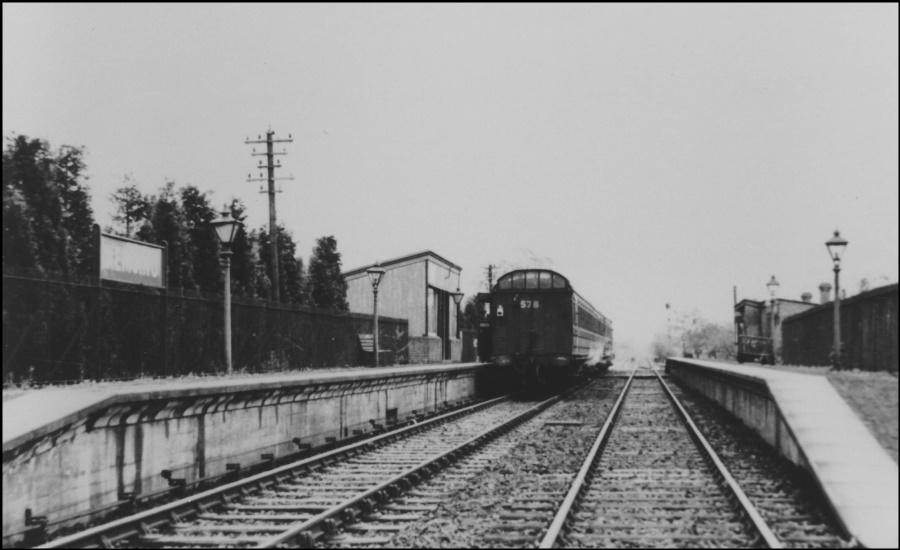 Kemsing Station 1930s