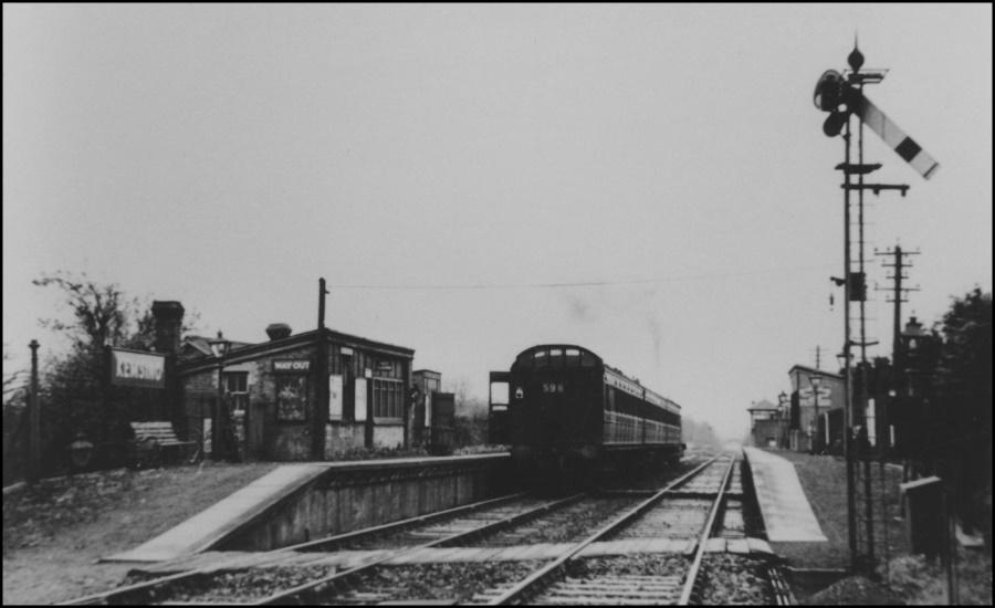 Kemsing Station 1938