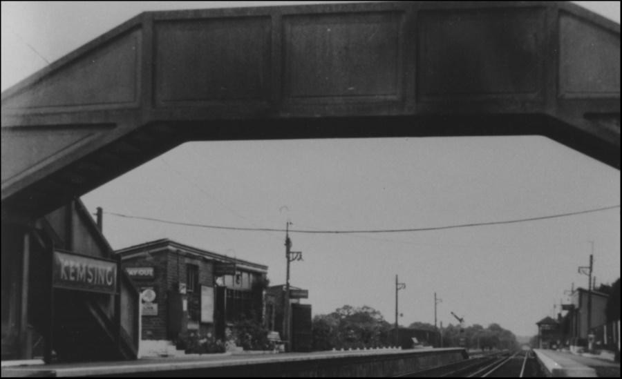 Kemsing Station post 1939