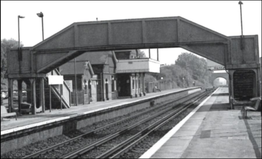 Lenham Station 1989