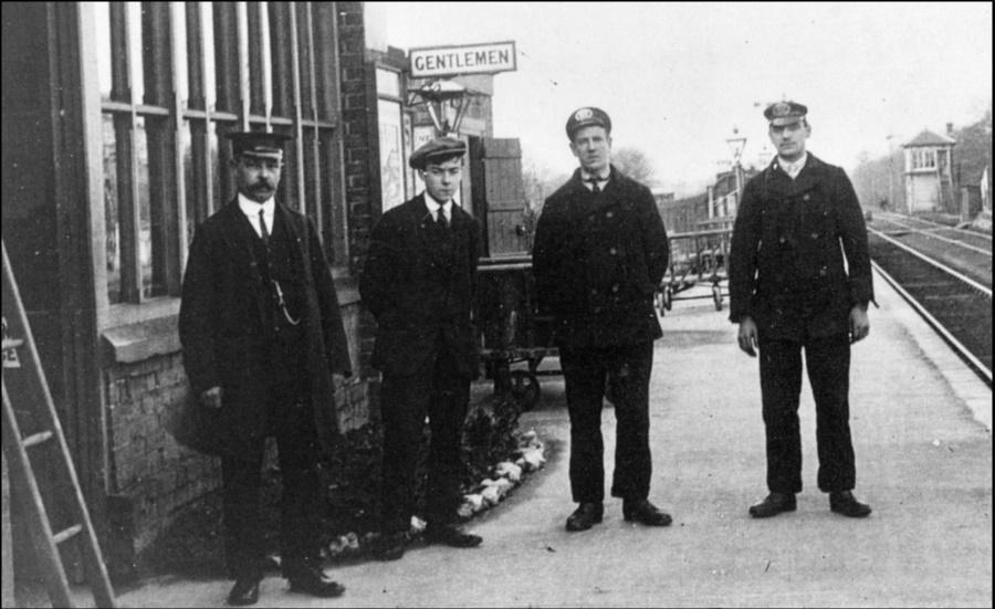 Station staff 1930s