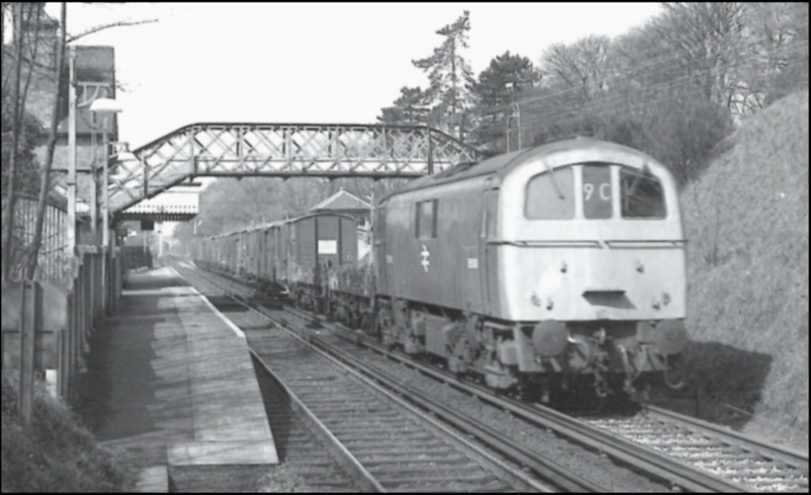 West Malling Station 1970