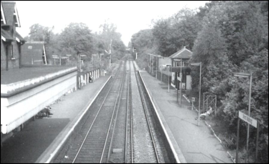 West Malling Station 1982
