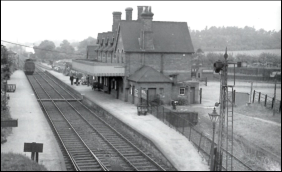 Wrotham and Borough Green Station 1938