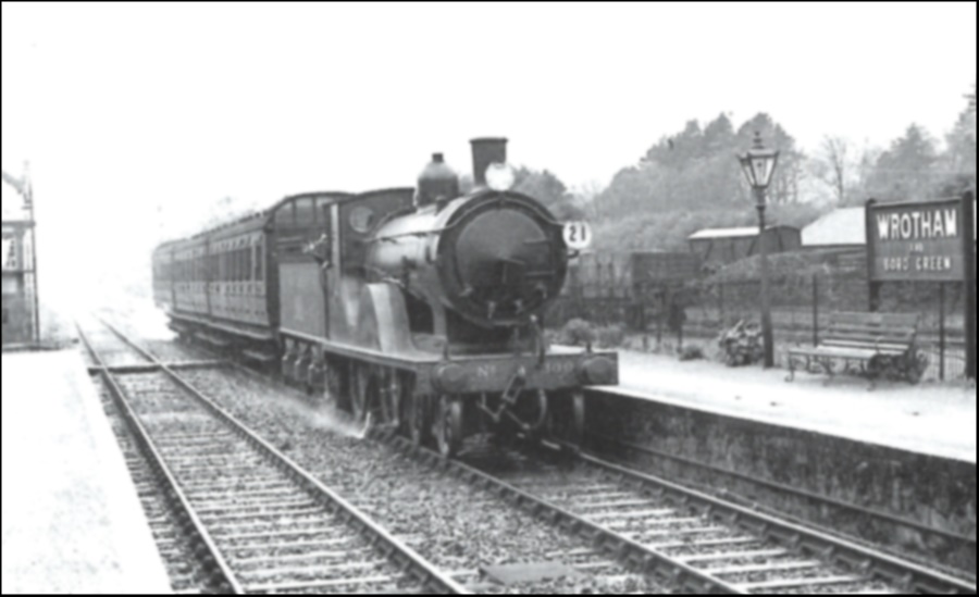 Wrotham and Borough Green Station 2 1938